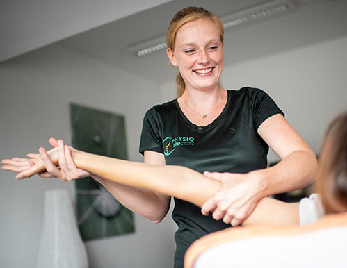 Miriam Quodt Team PHYSIOlife Physiotherapie Essen