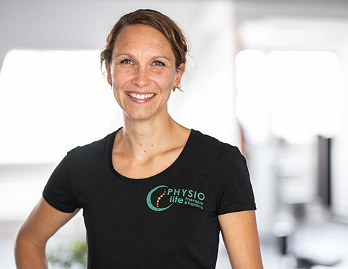 Nadine Janssen Team PHYSIOlife Physiotherapie Essen