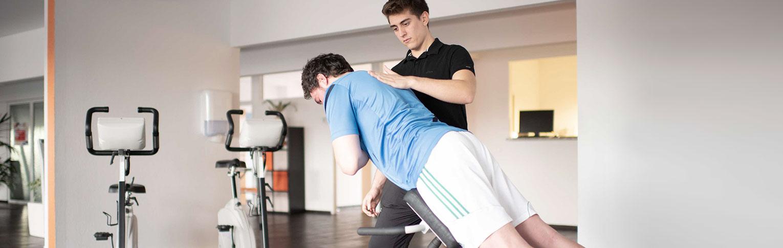 Training bei bei Physiotherapie PHYSIOlife in Essen
