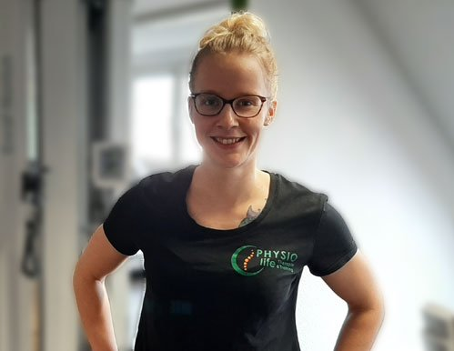 Lara Radlewski Team PHYSIOlife Physiotherapie Essen
